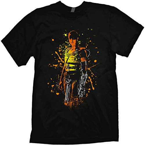 042de3a5c6b5b Mad Max Fury Road T-Shirt Furiosa fine art style design by Jared Swart