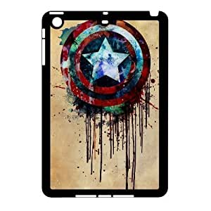 Captain America High Qulity Customized Cell Phone Case for iPad Mini, Captain America iPad Mini Cover Case