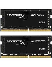 ذاكرة كينجستون بتقنية هايبر اكس امباكت 16GB Kit (2 x 8GB) HX424S14IB2K2/16