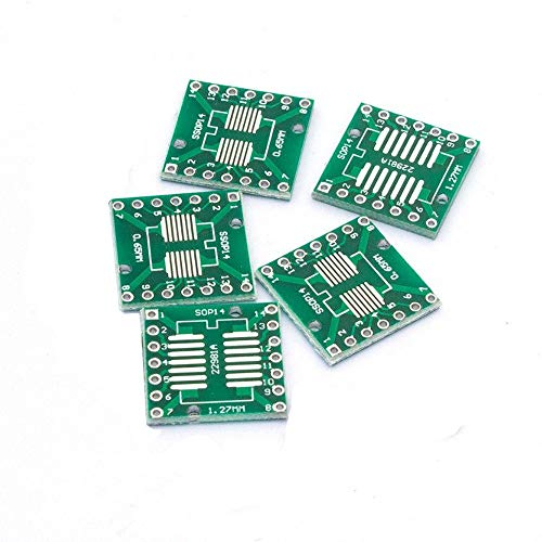30x PCB Board Kit SMD To DIP Adapter Converter FQFP32-100 QFN48 SOP8 16 24 28