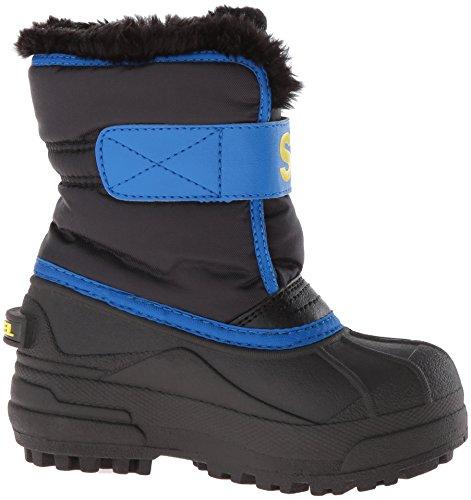 Sorel super Noir Bottes Black Toddler Snow bleu Blue Commander super Blue AAc4rgW