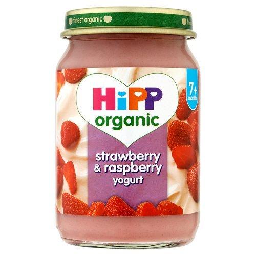 Hipp 7 Month Strawberry & Raspberry Yoghurt 160g