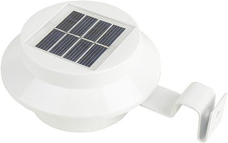OOFAYYT Luz Solar Jardín Batería Solar para Muros Exteriores Luz De Pared Solar LED Iluminación Foco Luz De Pared Exterior 6 Piezas: Amazon.es: Deportes y aire libre