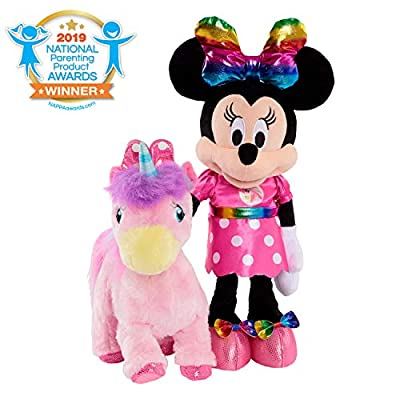 Minnie Walk & Dance Unicorn Feature Plush: Toys & Games