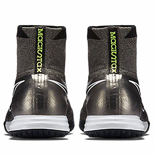 Nike Magistax Proximo IC, Scarpe da Calcio Uomo Gris / Negro / Blanco (Mtlc Pewter / Black-white-white)