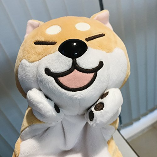 Pictures Country Costumes Different Of (Shiba Inu Dog Doge Hand Puppet Plush Stuffed Doll Toy Soft 35 cm -BuryTony (Open Mouth, Eye)