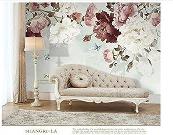 Yosot Nordic Handbemalte Retro Pastorale Blume 3D Tapete Für Tapete Vintage  Dekorative Malerei Home Improvement
