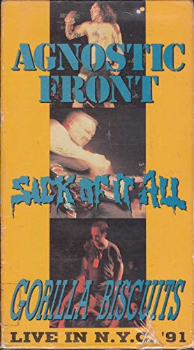 Agnostic Front:Live in NYC 91 [VHS]