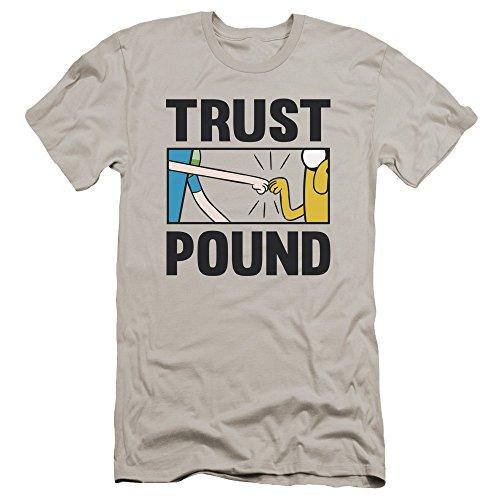 Pour Time Basique shirt Marque Adventure Trust Hommes Premium Silver Pound T De AUqddzw