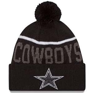 Amazon.com : New Era Knit Dallas Cowboys Black On Field