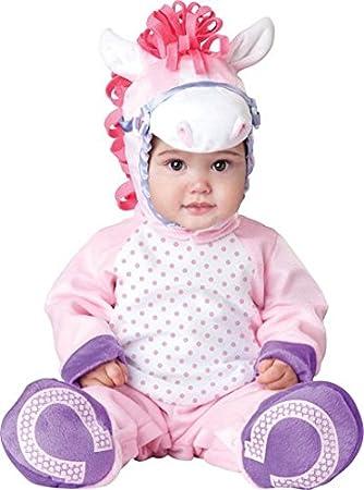 Disfraz de calidad para fiestas, diseño de bebé Bebé-Poni para ...