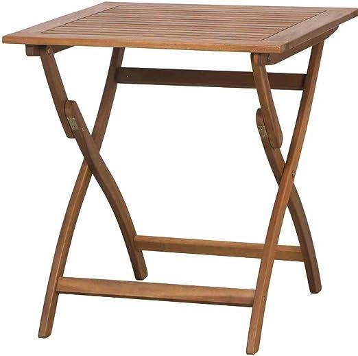 Siena Mybalconia Table Pliante 70 X 70 X 74 Cm Amazon Fr