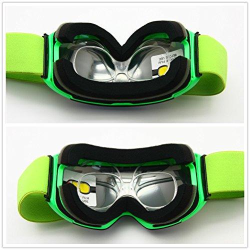 480a1fb21e8 Prescription Ski Goggles Rx Insert Optical Adaptor TR90 Flexible Bendable  Universal Size Inner Frame Snowboard Motorcycle Goggle  Amazon.co.uk   Sports   ...