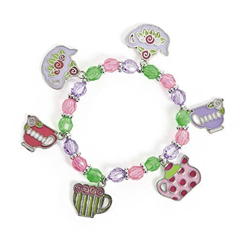 Tea Party Charm Bracelets (1 dz) by Fun Express
