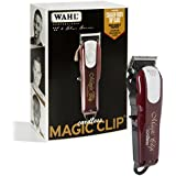 Wahl Professional 5-Star Cord/Cordless Magic Clip #8148 – Great for Barbers and Stylists – Precision Cordless Fade Clipper Loaded with Features – 90+ Minute Run Time