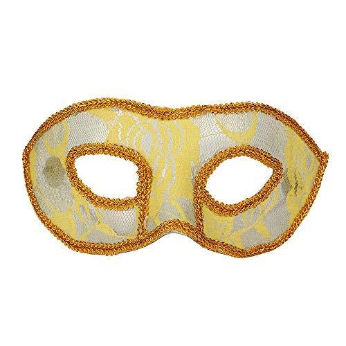 Masquerade Máscara de Media Cara para Hombres y Mujeres ...