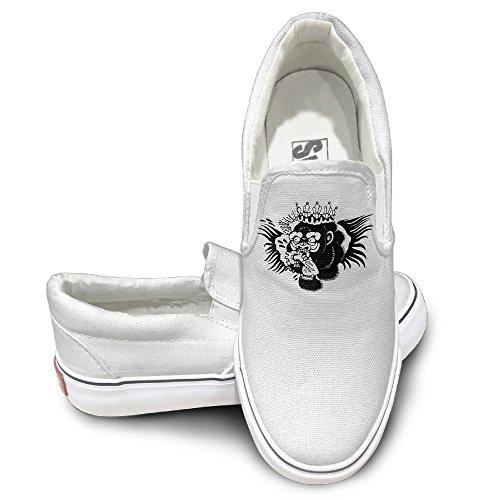 TAYC Conomcgregor Boxer Comfortable Flats-Shoes White