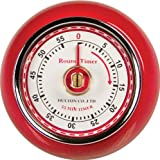 Fox Run 4252 Kitchen Timer with Magnet 55-Minute, Red