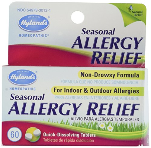 Hylands Homeopathic Seasonal Allergy Tablets