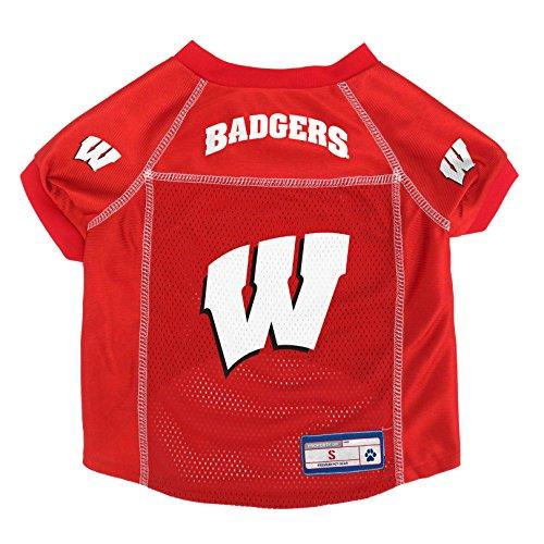 NCAA Wisconsin Badgers Pet Jersey, ()