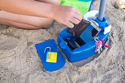 Caja fuerte para la playa: Cajaplaya: Amazon.es: Jardín