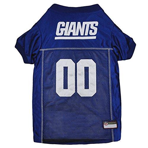 Pets First NFL New York Giants Premium Pet Jersey, -
