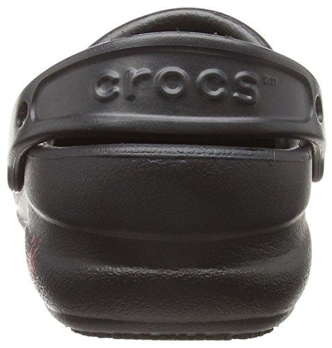 Clogs Black Unisex Pepper Graphic Crocs Bistro Work X1qwg6