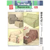 McCall's M4479 Slipcovers - Trading Spaces Pattern