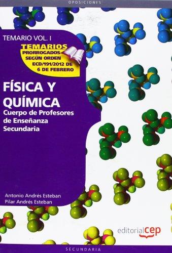 Descargar Libro Cuerpo De Profesores De Enseñanza Secundaria. Física Y Química. Temario Vol. I.: 1 ) Aa.vv.