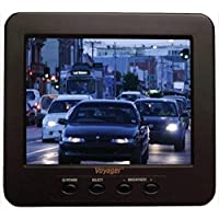Voyager AOS562 Widescreen LCD Color Backup Observation System with 5.6 Rear View LCD Observation Monitor with 2 Camera Inputs, Color CCD IR LED Camera, 4 Universal Pedestal Mount, 75 Camera Cable