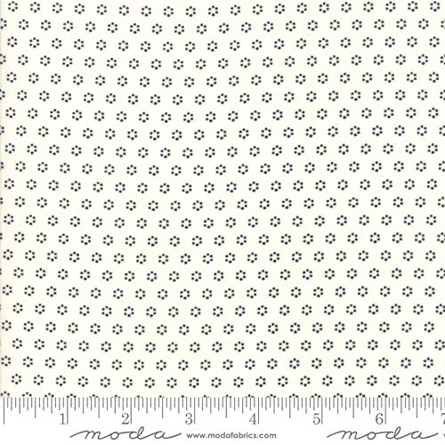 Moda All Hallows Eve by Fig Tree Fabric Circles Ghost Natural Style 20354/27