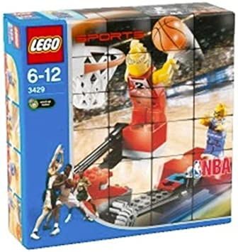 LEGO 3429 Sports NBA - Defensa de baloncesto definitiva (80 piezas ...