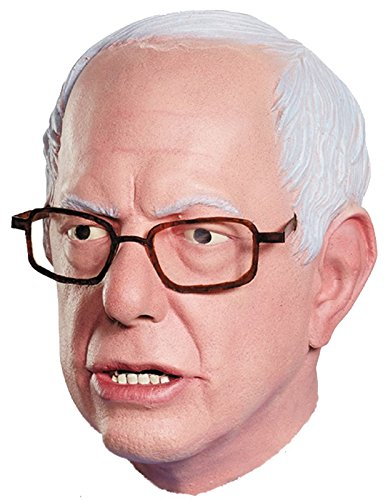 Disguise Bernie Sanders Deluxe Mask Costume Accessory,Multi,One-Size