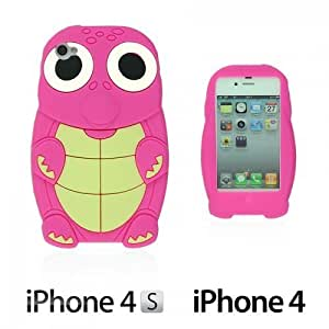 Turtle Style 3D Silicone For LG G3 Case CoverHot Pink