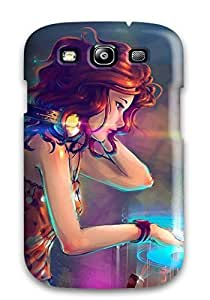 Hot Design Premium ZoCDktK5048mSFbE Tpu Case Cover Galaxy S3 Protection Case(music)