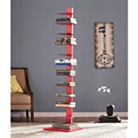 Spine Tower Shelf in Valiant Poppy