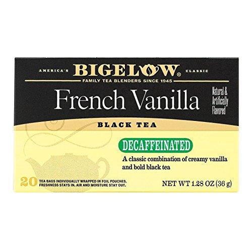 Bigelow Tea Decaffeinated French Vanilla Bag, 1.28 oz, 20 ct