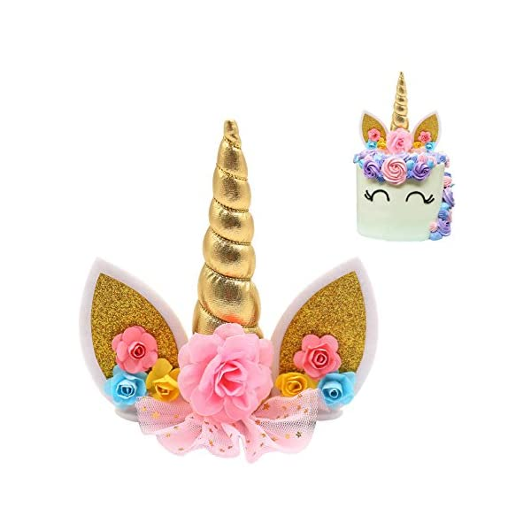 Unicorn Cake Topper 4