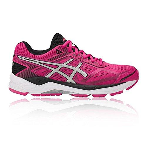 Shoes Pink Blue Gel 12 Foundation Asics Women's Running AqwTZT
