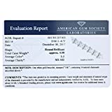 4 CT AGS Certified SI1-SI2 14K White Gold Diamond Bracelet (I-J)
