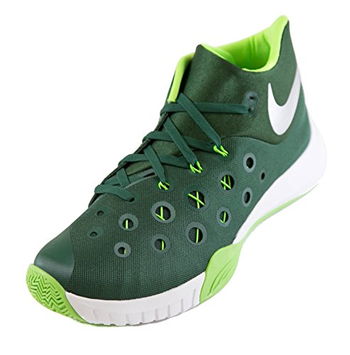 Tb Pour Zm Silver Homme Green Basketball 2015 Hyperquickness De Chaussures Gorge Metallic Nike electric qAfRStwR