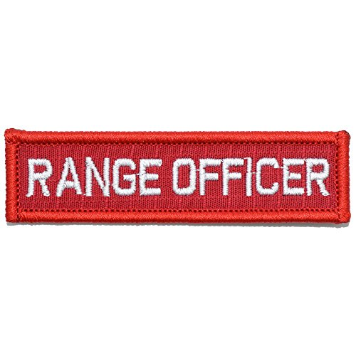 Range Officer - 1x3.75 Morale Patch (Red/White)