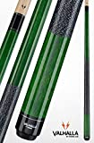 Viking Valhalla 2 Piece Pool Cue Stick with Irish Linen Wrap VA115 (19oz, Green)