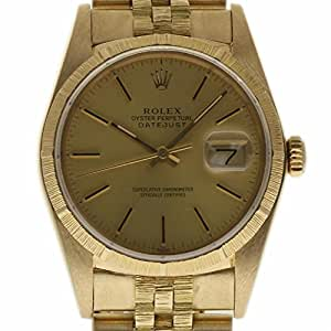 Rolex Datejust Swiss-Automatic Male Watch 16078 (Certified Pre-Owned)