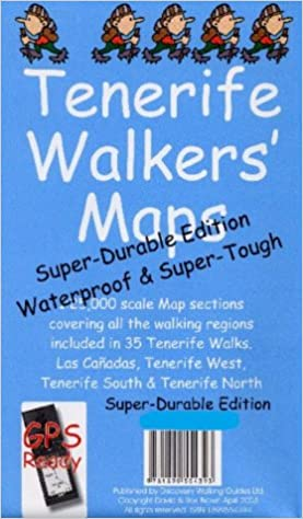 Tenerife Walkers Map: Super-durable Edition: Amazon.es: David Brawn, Ros Brawn: Libros en idiomas extranjeros