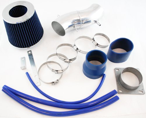 R&L Racing Blue Short Ram Air Intake Kit + Filter For Nissan 93-97 Sentra 200SX All Model