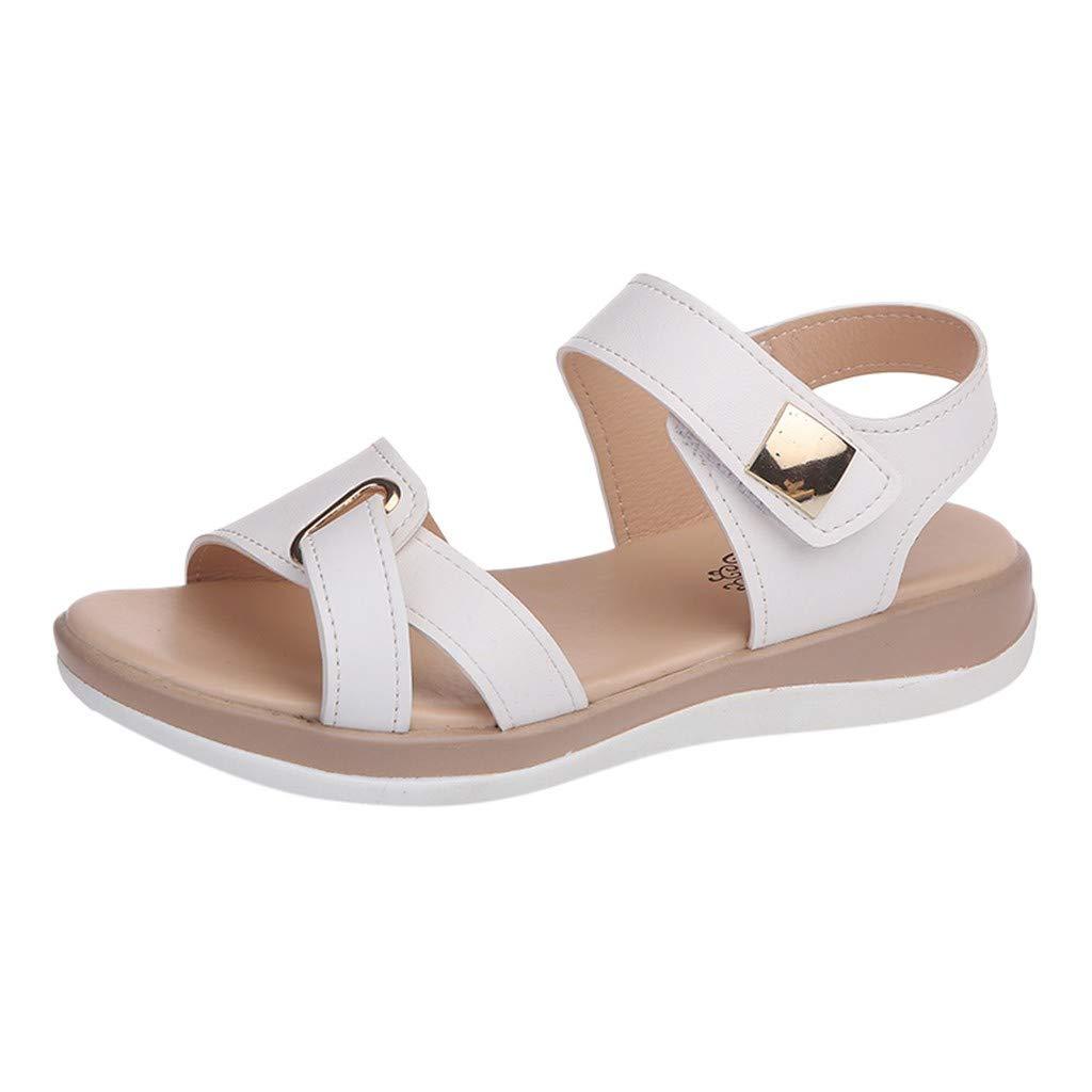 Realdo Womens Flat Sandals,Clearance Women