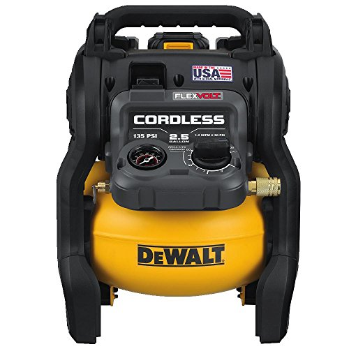 DEWALT DCC2560T1 FLEXVOLT 60V MAX 2.5 Gallon Cordless Air Compressor Kit Made In the USA