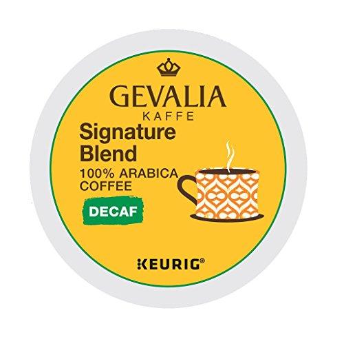 Gevalia Signature Blend Decaf Coffee K-Cup Pods, 48 Count