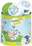 AladinE ALD-B02 - Stampo Baby Animali Fattoria, 4 Pezzi